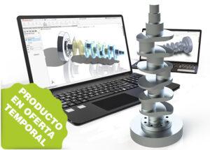 Combinado de curso Associate + Professional en Diseño Mecánico