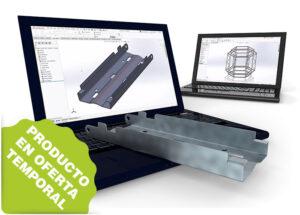 Combinado de Sheet Metal + Weldments con SolidWorks
